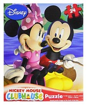 Cardinal Mickey Mouse Clubhouse 24 Piece Puzzle Assorted Styles - $4.27