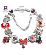 Rystal pandora bracelet for women charm bracelets bangles handmade jewelry.jpg 640x640 thumbtall