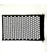 """Acupressure Mat Black 26""""x16"""" - Round Spike Pads-Pain Relief-Bed of Nail... - $20.14"""