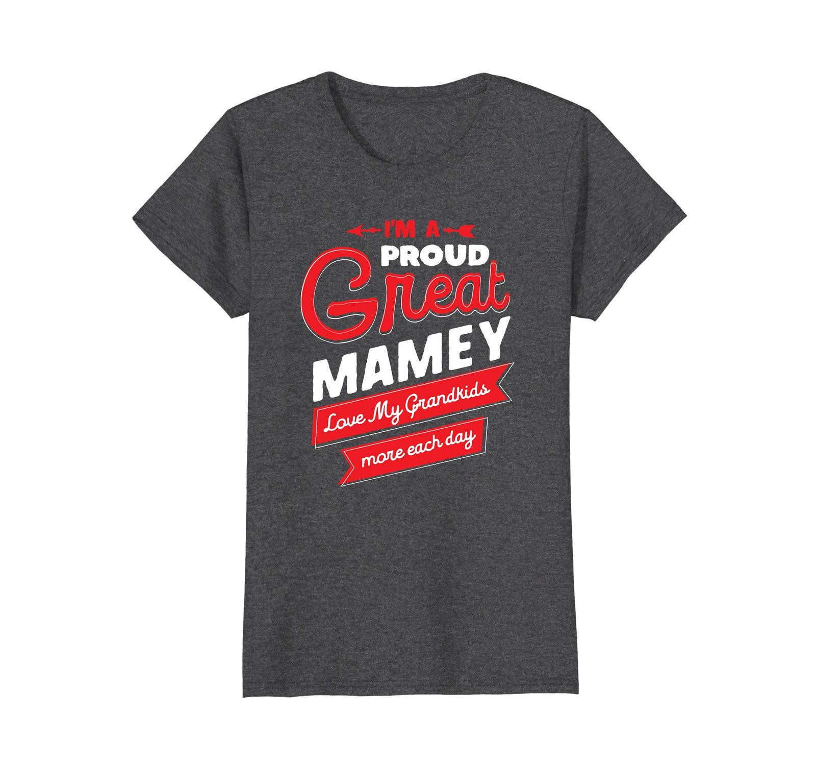 Primary image for Funny Shirts - Proud Great Mamey Love My Grandkids Grandma Gift T Shirt Wowen