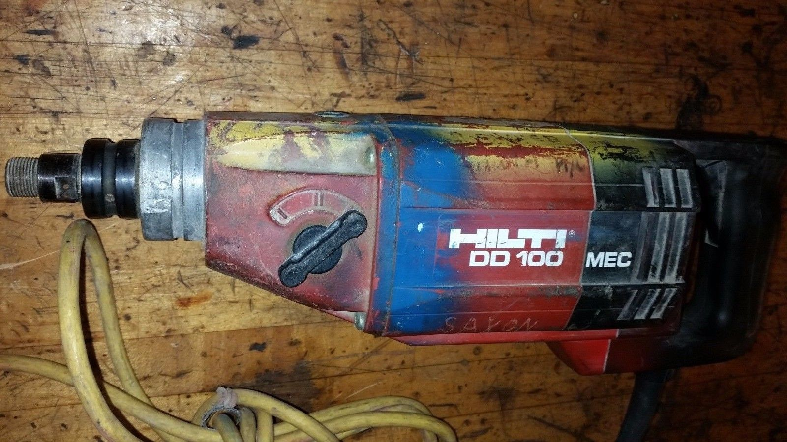 HILTI DD100 Diamond Core Drill. Bore Drill Concrete Hole Saw DD 130 150 110 80