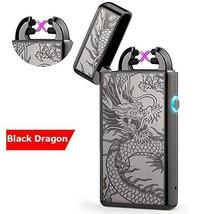 lcfun Windproof Lighter X Dual Arc Plasma Lighter Flameless Arc Lighter-... - $24.41