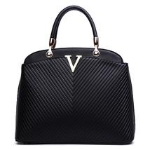 Women fashion leather handbags ladies messenger shoulder bags women luxu... - $70.69