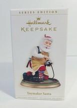 Santa Playing with Train 2006 Hallmark Keepsake Ornament Toymaker 7th In... - $13.10