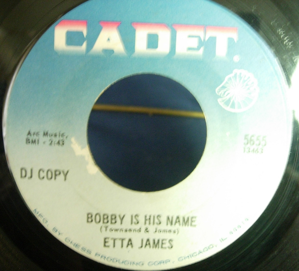 Etta James - Miss Pitiful / Bobby Is His Name - Cadet Records 5655
