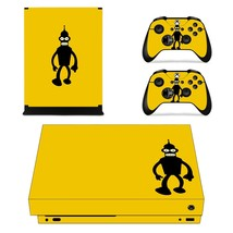 Bender xbox one X skin decal for console and 2 controllers - $15.00