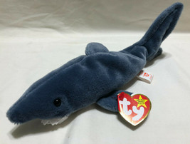 TY BEANIE BABY CRUNCH, BIRTH DATE 1/13/1996, P.V.C. STYLE 4130 - NEW OLD... - $9.99