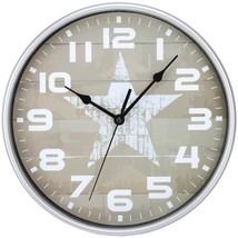 Timekeeper 668012S Star Wall Clock - $29.23