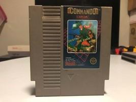 Commando, Nintendo Entertainment System (NES) 1986, Tested - $5.24