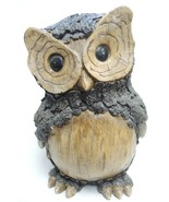 """Large 10"""" Tall Resin Wood Design Funky Owl - $56.99"""