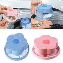 Honana Home Flower Shape Washing Machine Cleaning Accessory Lint Hair Fi... - $11.99