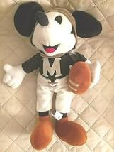 "Disney Mickey Mouse Footbal Stuffed Plush 15"" - $18.56"