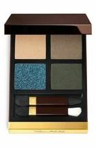 TOM FORD Eye Color Eye Shadow Quad Palette LAST DANCE 21 Gold Glittery B... - $62.50