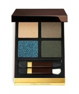 TOM FORD Eye Color Eye Shadow Quad Palette LAST DANCE 21 Gold Glittery B... - $62.50