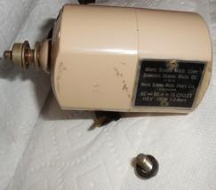 White JA-15 1.3 Amp On Mount w/Screws Wired Runs Well - $15.00