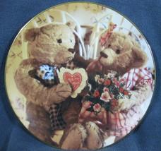 Sweethearts Collector Plate Bialosky & Friends Hamilton 1993 Teddy Bears - $14.95