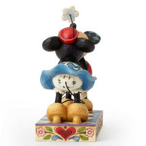 "6.25"" Smooch for My Sweetie Mickey & Minnie Mouse - Jim Shore Disney Traditions image 4"