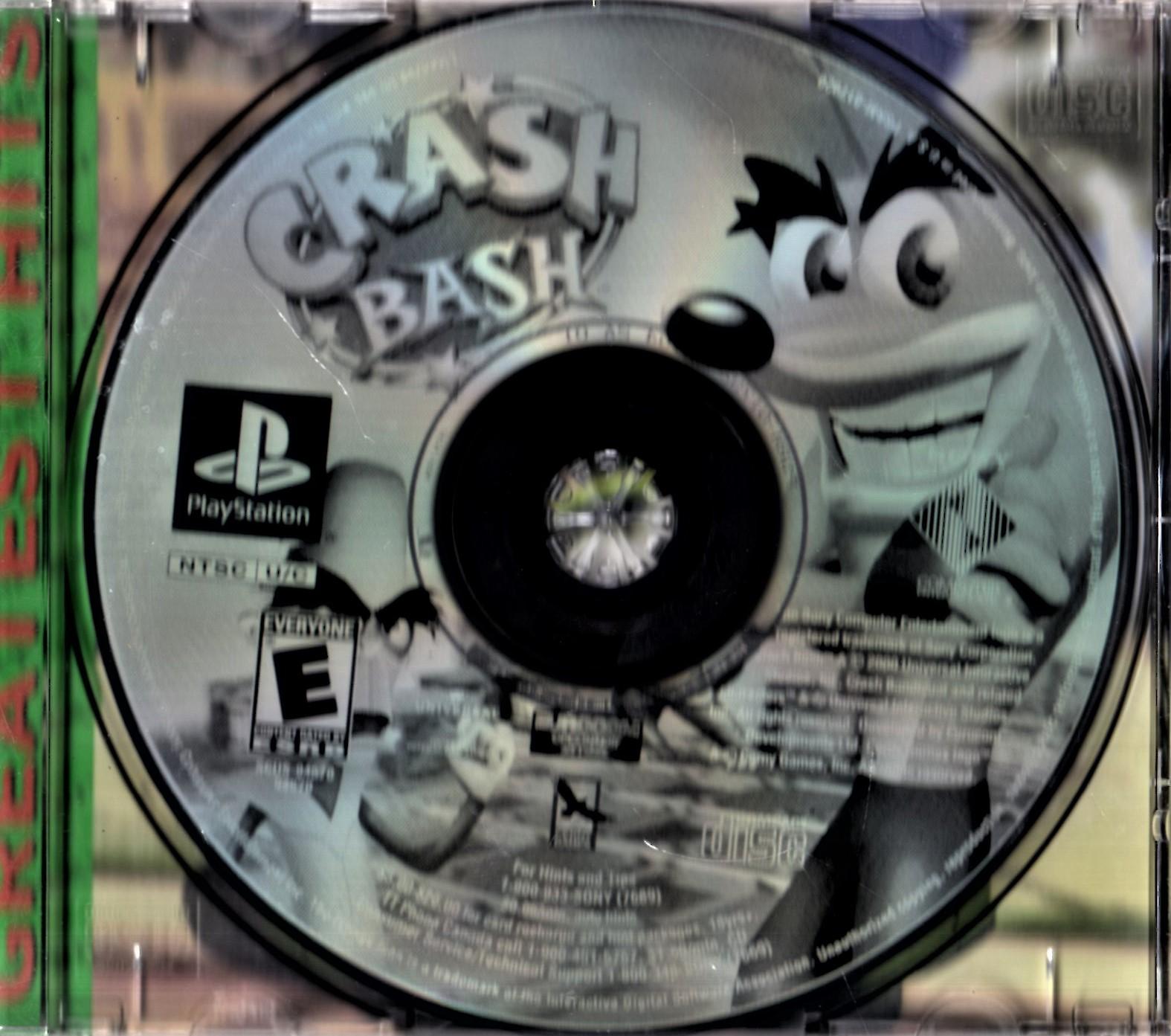 PlayStation  -  Crash Bash (Greatest Hits) image 4