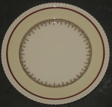 "Vtg Old English Johnson Bros England 10"" Dinner Plate Replacement White/... - $13.86"