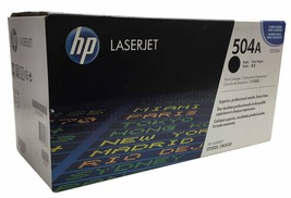 HP 504A Black Original LaserJet Toner Cartridge - $31.99
