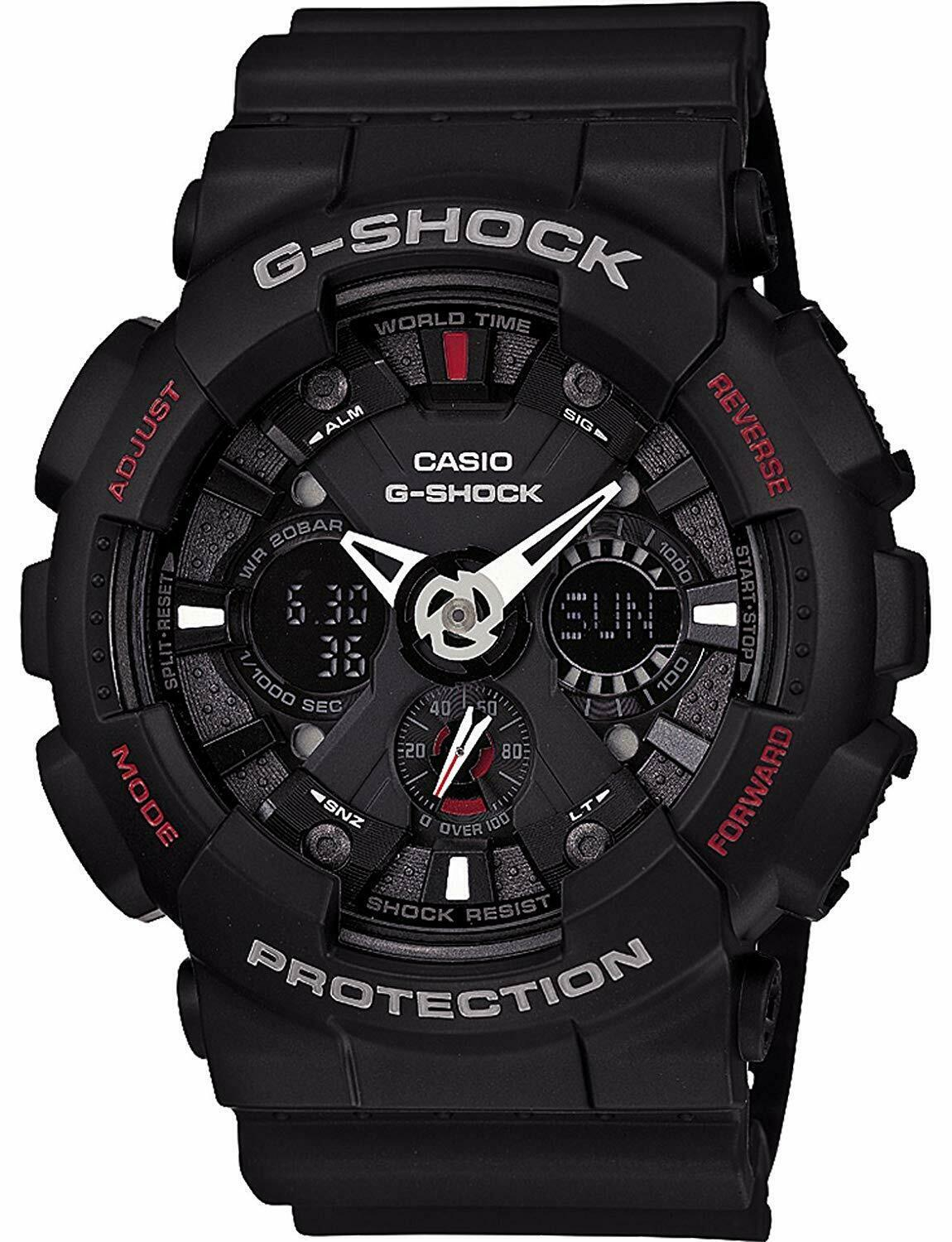 Primary image for Casio G-Shock Analog-Digital Black Dial Men's Watch - GA-120-1ADR (G346)