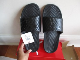 BNIB PUMA Popcat Men's Slide Sandals, size 9, Black (will ship w/o box) - £21.65 GBP