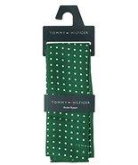 Tommy Hilfiger Men's Color Dot Silk Pocket Square in Green - $24.75