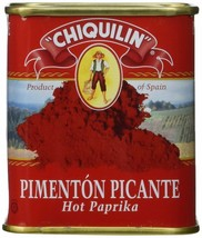 Chiquilin Hot Paprika Tin - 6 pack (75gr) - $32.66