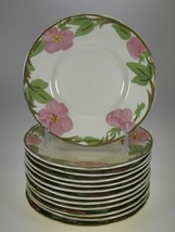Franciscan Desert Rose Bread & Butter Plates Set of 12 BRAND NEW PRODUCTION - $23.33