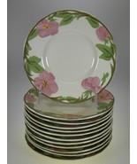Franciscan Desert Rose Bread & Butter Plates Set of 12 BRAND NEW PRODUCTION - $23.33