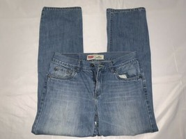 Boys Mens Levis 514 Jeans Light Wash Straight 18 Regular 29x29 Excellent... - $14.25