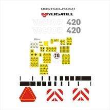 ROSTSELMASH VERSATILE 420 - Combine Harvester decal set, reproduction - $250.00
