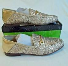 Sam Edelman Women's Loraine Gold Glitter Flats Size 10 - $29.47