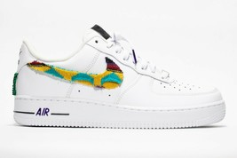 nike air force 1 white custom 'Coogi' available in all sizes 7-13 100% auth. - $210.00