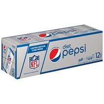 Diet Pepsi Cola, 12 ct, 12 oz Cans Packaging May Vary