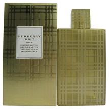 Burberry Brit Gold Perfume 1.7 Oz Eau De Parfum Spray  image 3