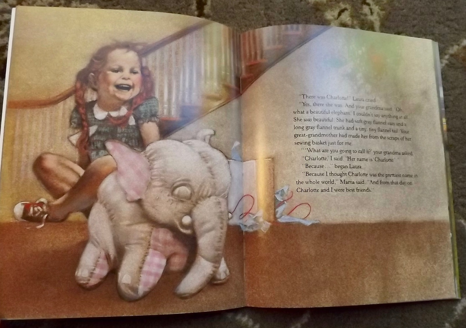 3 books The Gingerbread Doll, Laura Charlotte, Chita's Christmas Tree