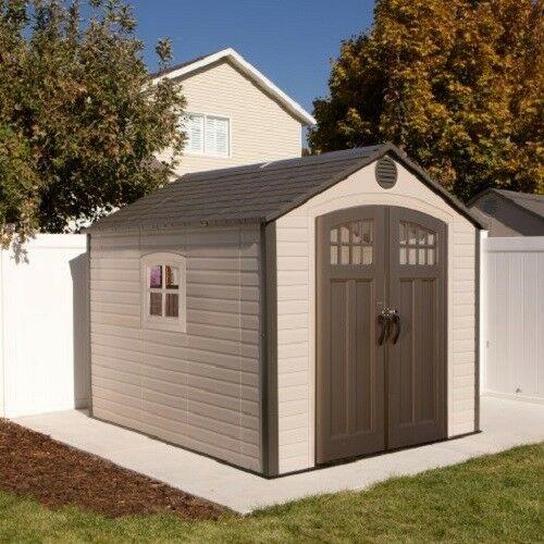 Lifetime 8x10 Storage Shed Kit w/ Corner Trims [60117]
