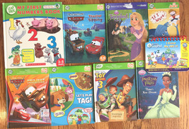 Leap Frog Books - Lot of 8 My First Numbers, Toy Story 3, Disney Pixar, ... - $21.32