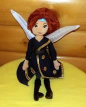 "Disney Plush Doll 19"" Stunning ZARINA Pirate Gold Trim Fairy Tinkerbell ... - $8.79"