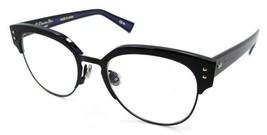 Christian Dior Rx Eyeglasses Frames Dior Exquise O2 2XB 50-18-145 Black Blue - $161.70