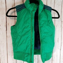 Gap Kids Boys Outdoor Puffer Vest Size Extra Small Green Blue - $7.25