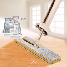 Double Sided Mop Flat Mop Self-Wringing Comfortable Handle Floor Cleanin... - $35.52
