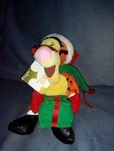 "Bean Bag Santa Tigger 9"" - $44.54"
