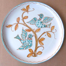 "Handmade & Hand-painted ""Love Birds"" Collectible Ceramic Plates 729 - Ma... - $24.99"