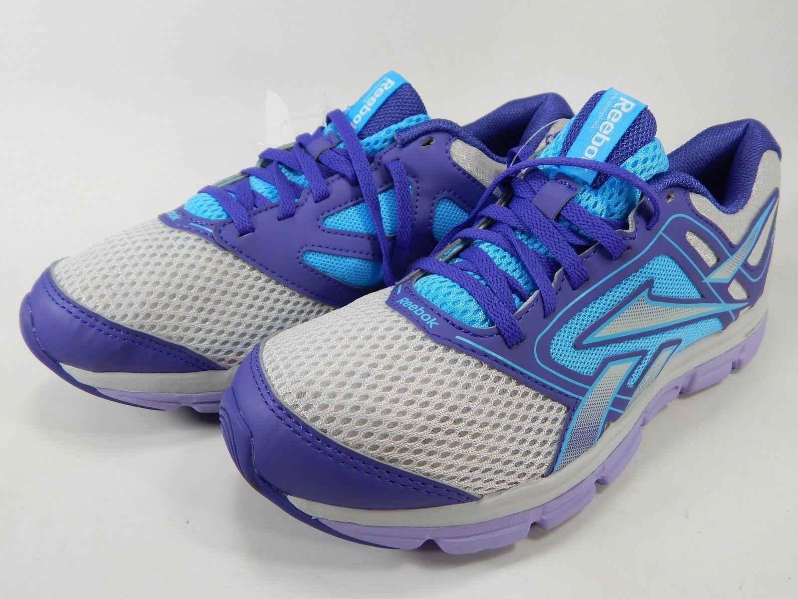 Reebok Dual Turbo Flier Size US 7 M (B) EU 37.5 Women's Running Shoes Purple