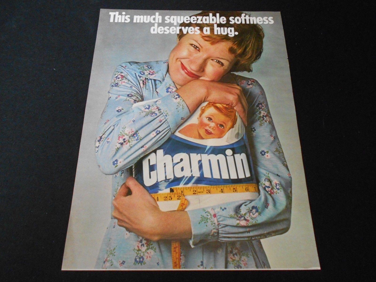 CHARMIN Bathroom Tissue Magazine Ad Lot Toilet Paper