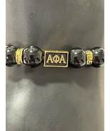 Alpha Phi Alpha Men's Beaded Bracelet - £11.84 GBP