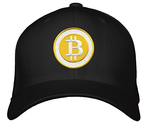 Lidly Bitcoin Hat - One Size Fits All Black Cap