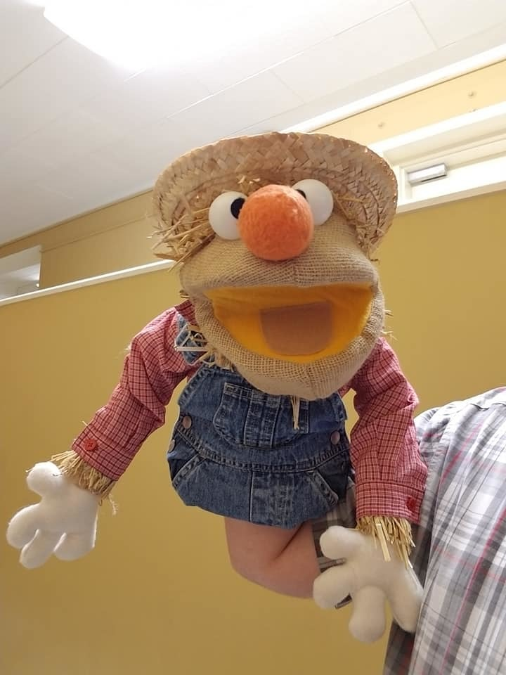 """Professional """"Scarecrow"""" Muppet Style Ventriloquist Puppet * Custom Made"""